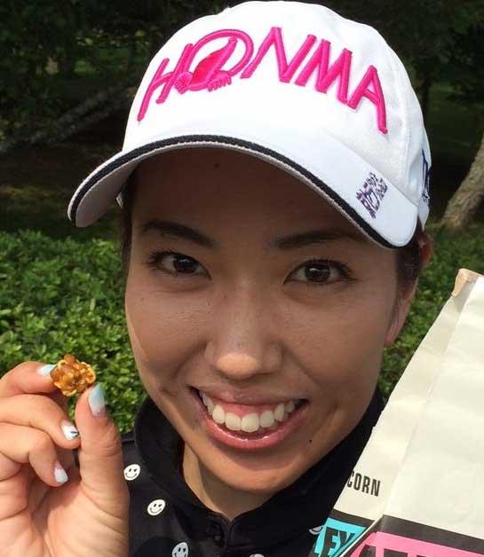 笠りつ子 プロゴルファー