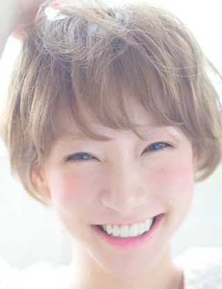前林由佳子 笑顔