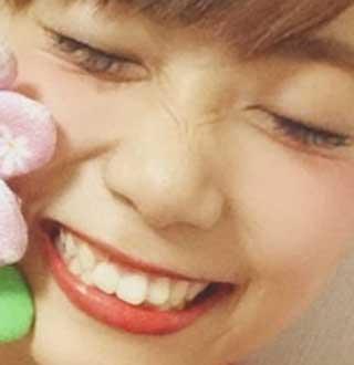本田桃子 前歯