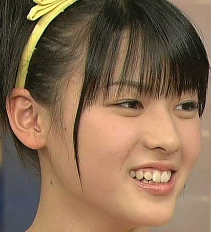 矢島舞美 中学3年の頃の写真