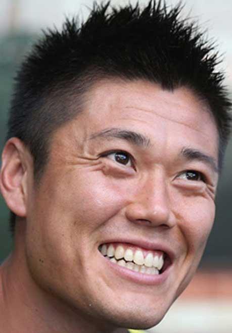 川島永嗣 笑顔
