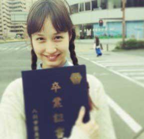 水原佑果 高校時代の写真