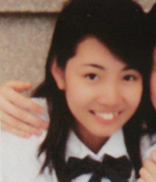 柚希礼音 高校時代の写真