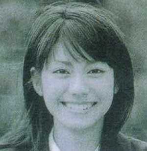 松下奈緒 高校時代の写真