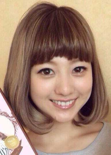 伊藤千晃 ヘアスタイル 髪型