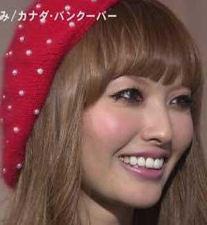 鈴木えみ 白い歯