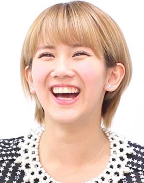 岡井千聖 笑顔
