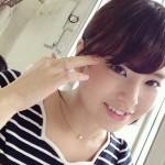 角谷暁子さんの前歯や歯並び