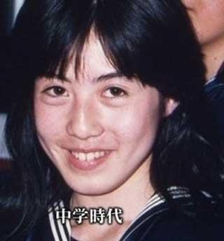 小島慶子 中学時代の写真