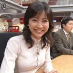 矢島悠子アナウンサーの前歯や歯並び(ビーバー歯)