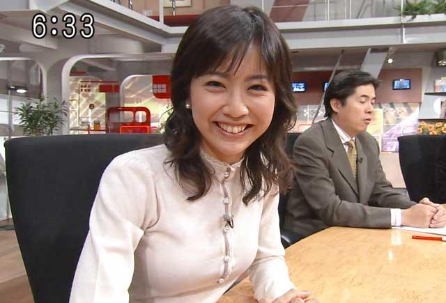 矢島悠子アナウンサーの前歯や歯...