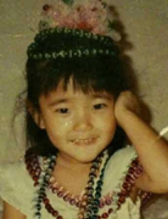 郭雪芙(パフ・クオ) 子供時代の写真