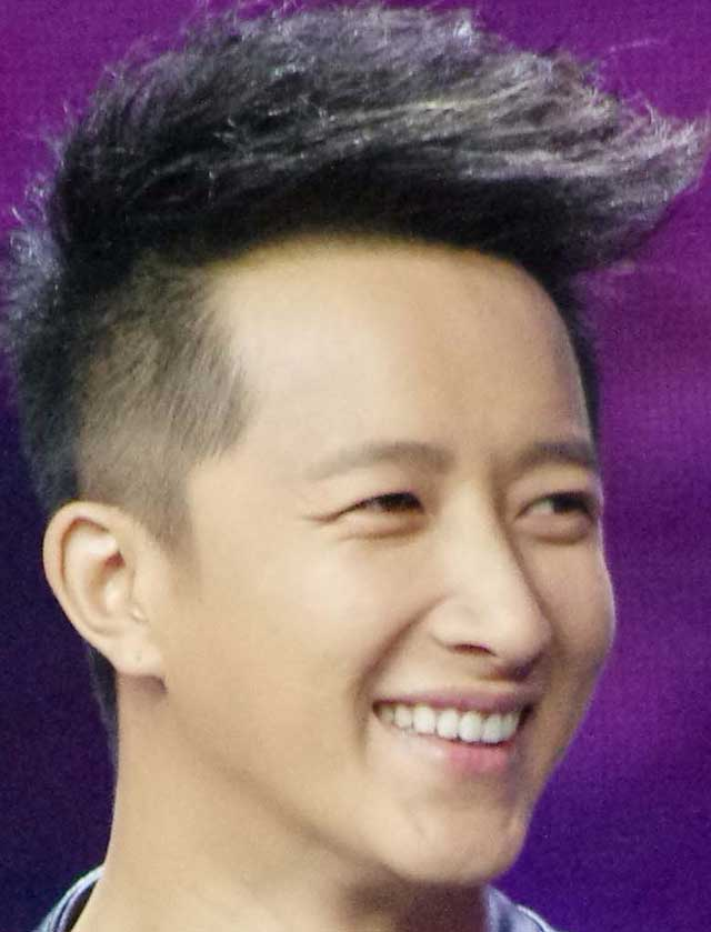ハン・グン(韓庚) 笑顔