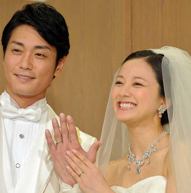 永井大 中越典子 結婚