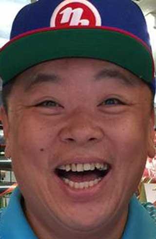 伊集院光 前歯の写真