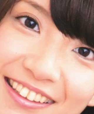 大久保瑠美 前歯の写真