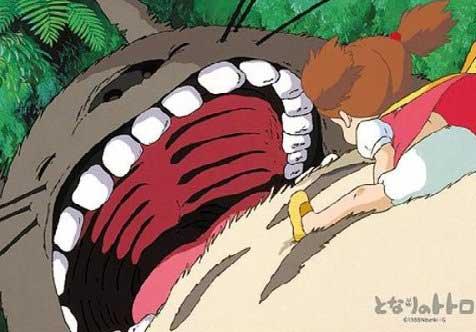 トトロ 歯並び