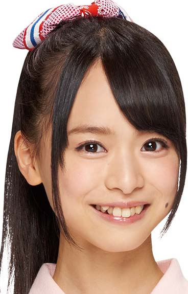 倉野尾成美 前歯の写真