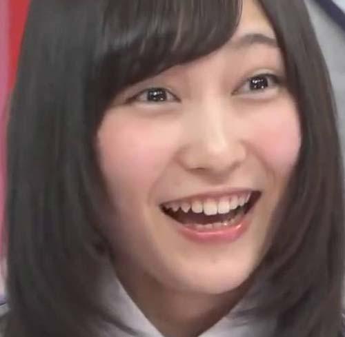 欅坂46 志田愛佳 前歯