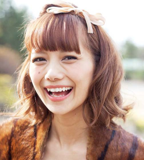 武智志穂 モデル