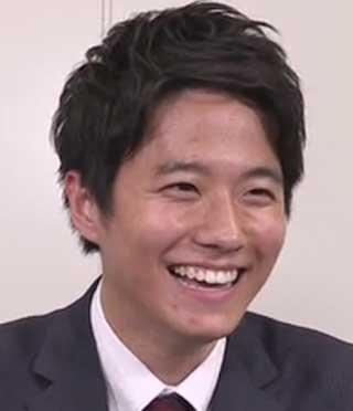 黒瀬翔生アナウンサー 笑顔