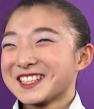 坂本花織 前歯
