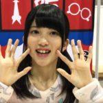 寺田美咲さんの前歯や歯並びを評論(交叉咬合・すきっ歯)