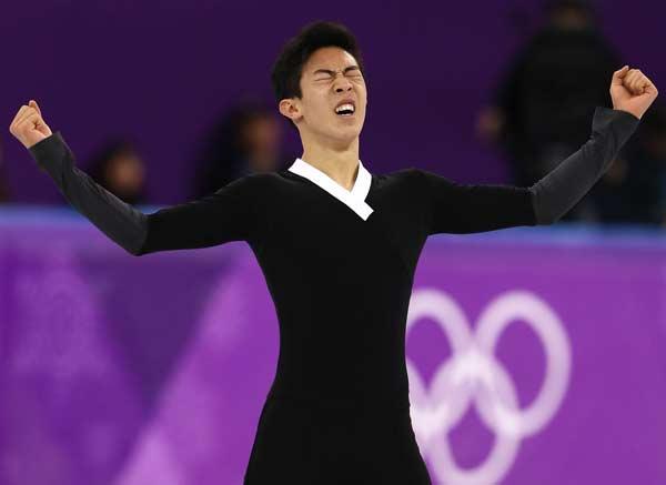 ネイサン・チェン 平昌オリンピック