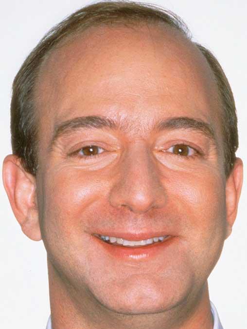 ジェフ・ベゾス 前歯
