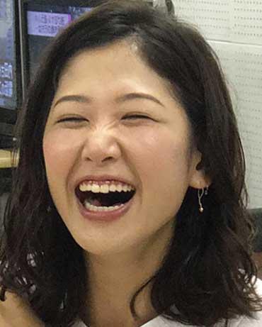 桑子真帆 かわいい笑顔