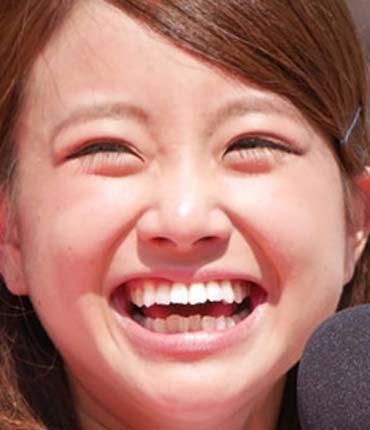 中川絵美里 かわいい笑顔