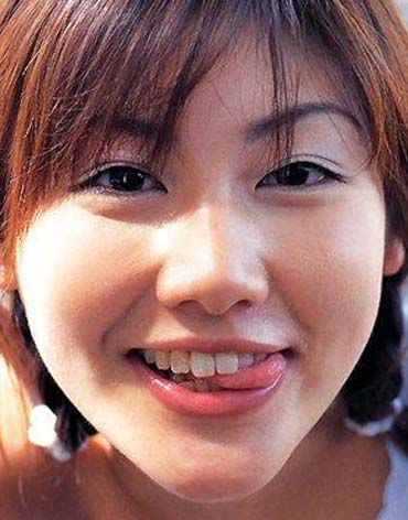 安めぐみ デビュー当時の写真