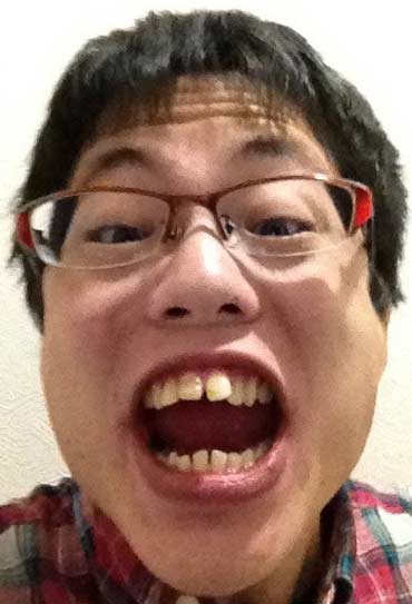 ピンボケたろう 歯